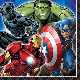 Avengers Luncheon Napkins, 16 pieces