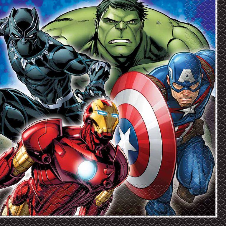 Avenger Serviettes de Table, 16un