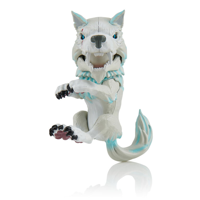 Fingerlings Untamed - Dire Wolf - Midnight (Black and Red) - R Exclusive