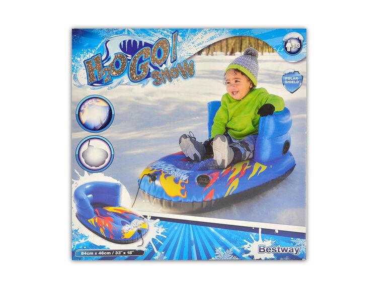 Averses de neige gonflables enfant sled