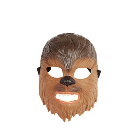 Star Wars Chewbacca Mask for Kids Roleplay and Dress Up, Star Wars Galaxy's Edge - R Exclusive
