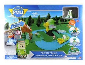 Robocar Poli - Ensemble de recyclage