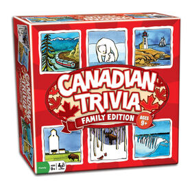 Canadian Trivia Game - Family Edition - English Edition