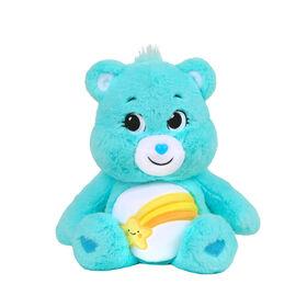 """Care Bears Basic 14"""" Plush - Wish Bear"""