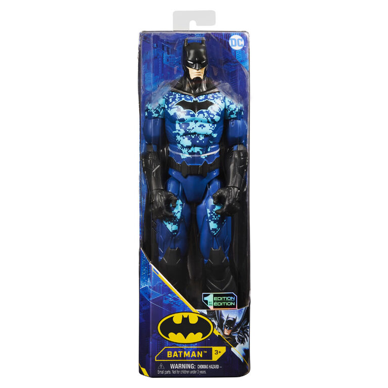 Batman 12-inch Bat-Tech Tactical Action Figure (Blue Suit)
