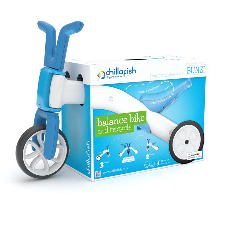 BUNZI: 2-in-1 gradual balance bike - Blue