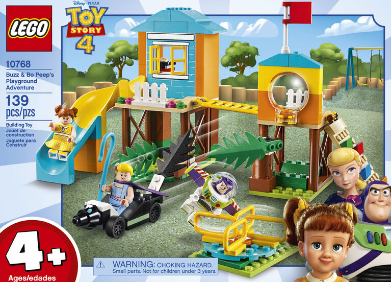 LEGO  Disney Toy Story 4 Buzz & Bo Peep's Playground Adventure 10768