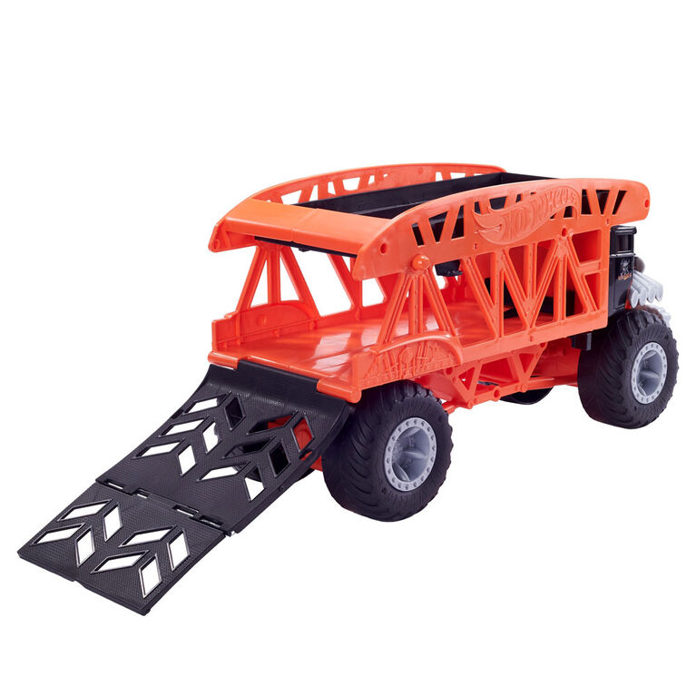 Hot Wheels - Monster Trucks - Transporteur Monstre