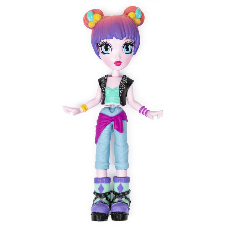 Off The Hook Style Doll, Alexis (Concert), 4-inch Small Doll with Mix and Match Fashions - R Exclusive