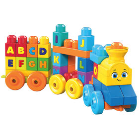 Mega Blocks ABC Learning Train