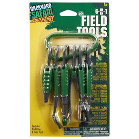 Backyard Safari 6-in-1 Field Tools