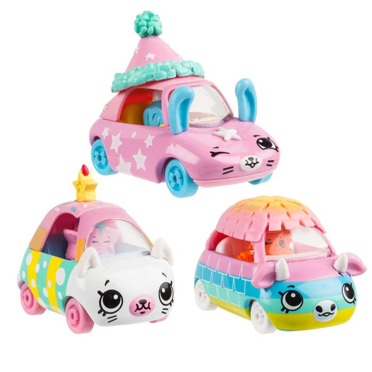 Shopkins Cutie Cars 3pack - Park N Party