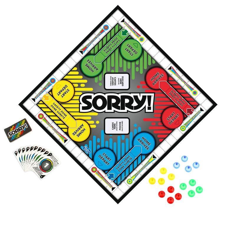 Hasbro Gaming - Sorry! - styles may vary