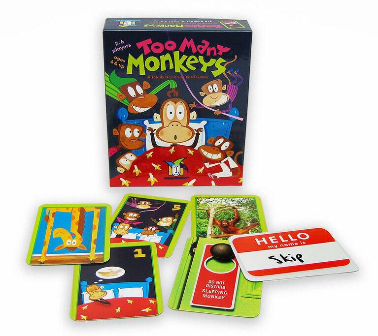 Gamewright - Too Many Monkeys Game
