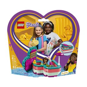 LEGO Friends Andrea's Summer Heart Box 41384