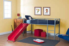 DHP - Junior Loft with Slide, Red