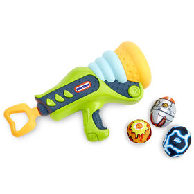 Mighty Blasters Boom Blaster Toy Blaster with 3 Soft Power Pods by Little Tikes