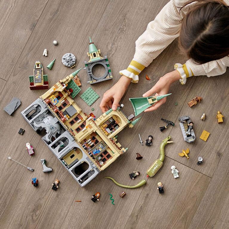 LEGO Harry Potter La chambre des secrets de Poudlard 76389
