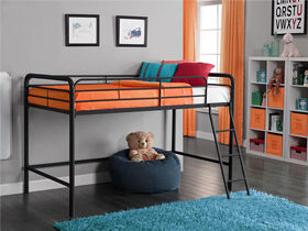 DHP - Junior Loft Bunk, Black