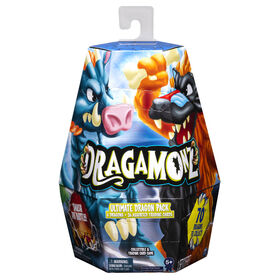 Dragamonz, Ultimate Dragon 6-Pack, Collectible Figure and Trading Card Game