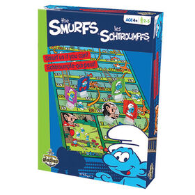 Smurfs Snakes and Ladders Game - French Edition