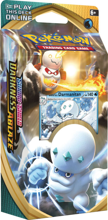 "Pokemon Sword & Shield 3 ""Darkness Ablaze"" Theme Deck-Darmanitan"