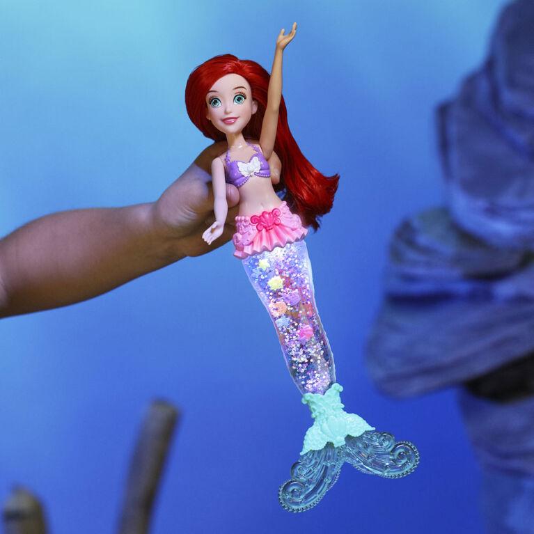 Disney Princess Ariel lumineuse, poupée Ariel