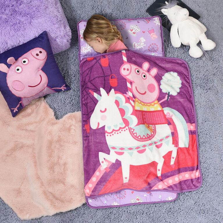Toddler Nap Mat Blanket, Peppa Pig