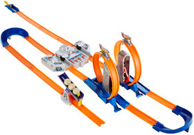 Hot Wheels - Track Builder Total Turbo Takeover Track Set