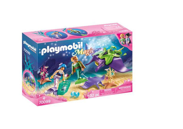 Playmobil Chercheurs de perles et raies 70099