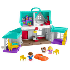 Fisher-Price - Little People - Maison de l'entraide - Édition bilingue