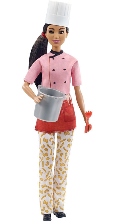 Barbie Pasta Chef Doll (12-in/30.40-cm) & Accessories