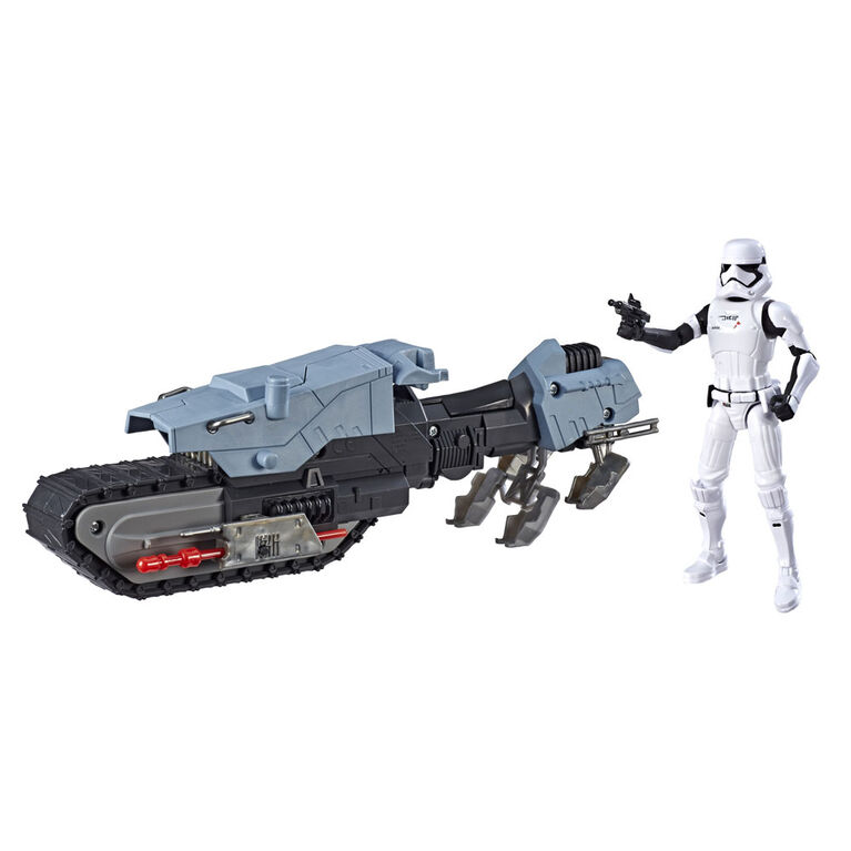 Star Wars Galaxy of Adventures First Order Driver and Treadspeeder