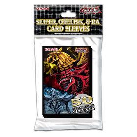 Protège-cartes Yu-Gi-Oh! Slifer, Obélisk et Râ - Édition anglaise