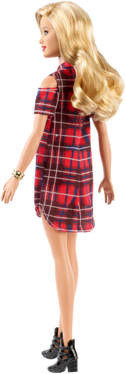 Barbie Fashionistas Doll - Patched Plaid