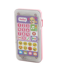 Fisher-Price Laugh & Learn Leave A Message Sis Smart Phone - Pink - English Edition
