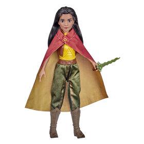 Disney, poupée mannequin Raya avec vêtements