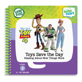 LeapFrog LeapStart Toy Story 4 Toys Save the Day Reading About How Things Work - English Edition
