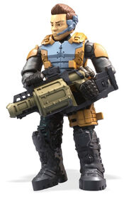 "Mega Construx Call of Duty Specialist ""Battery"" Figure"