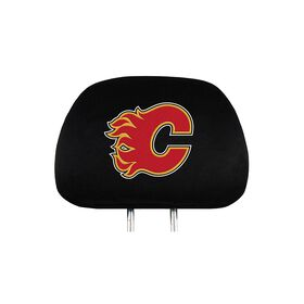 Calgary Flames Headrest Covers