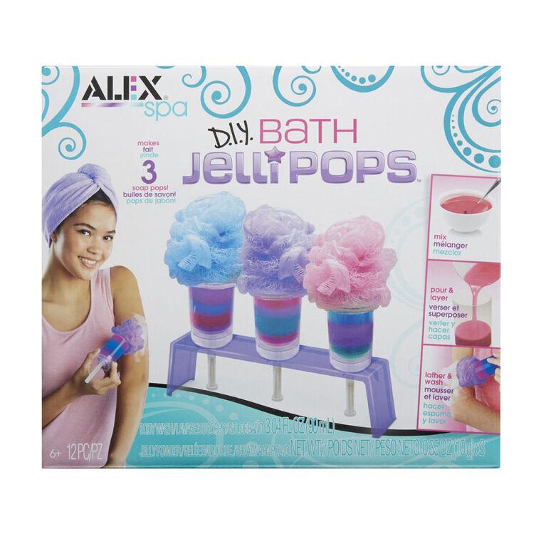 Alex Spa DIY Bath Jelli Pops