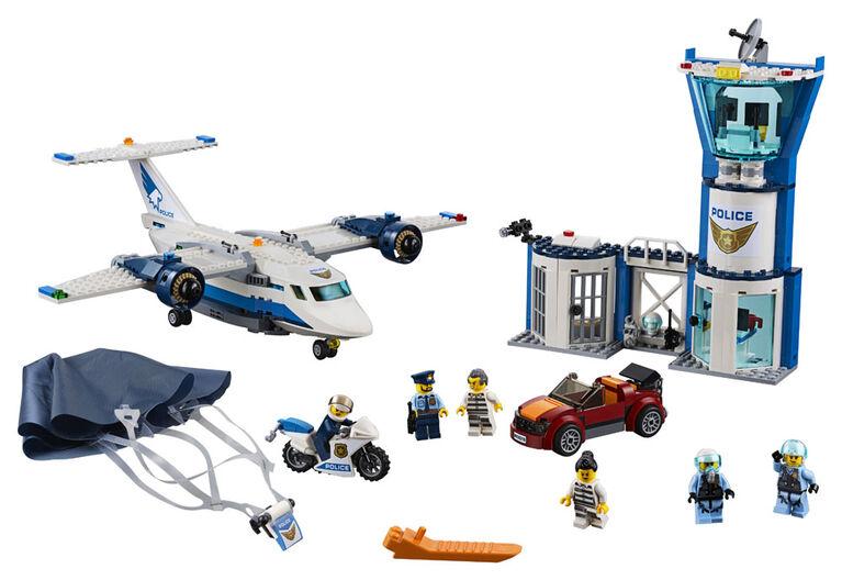 LEGO City Police La base aérienne de la police 60210