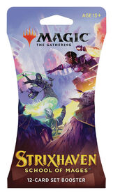 """Magic the Gathering """"Strixhaven: School of Mages"""" Set Booster Sleeve - English Edition"""