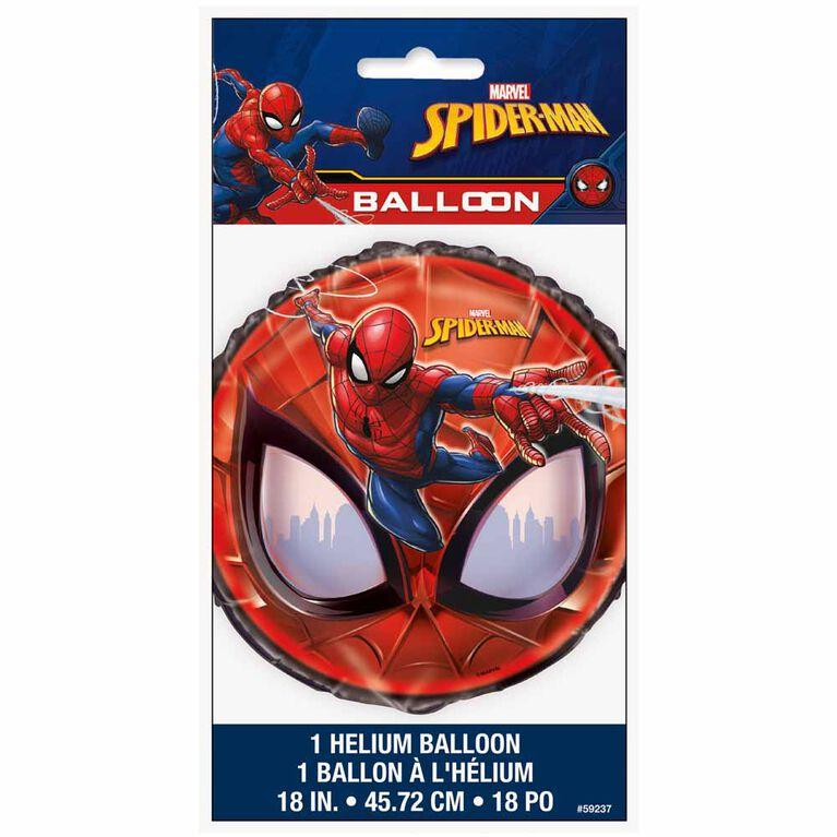 """Spider-Man Round Foil 18"""""""