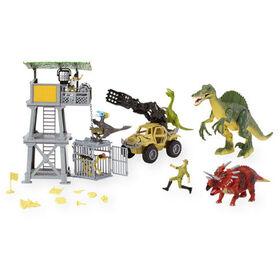Animal Planet - Ensemble de jeu géant mirador et spinosaure