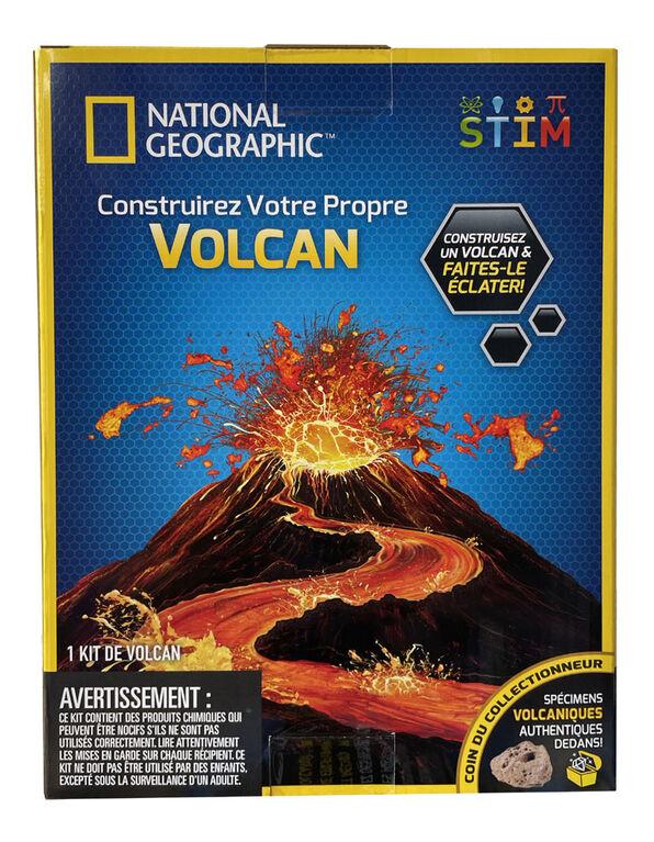National Geographic - Construisez votre propre volcan