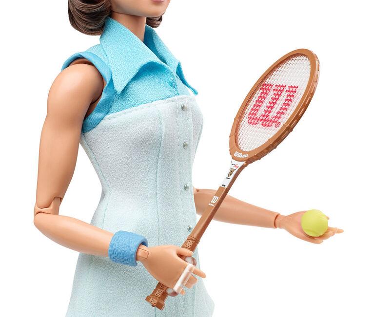 Poupée Barbie Billie Jean King de série Femmes Inspirantes de collection - Édition anglaise