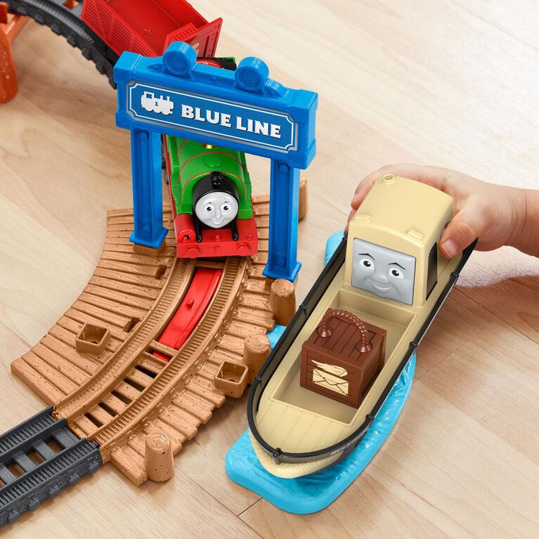 Fisher-Price Thomas /& Friends Talking Thomas /& Percy Train Set