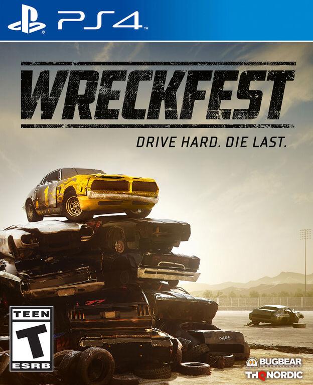 PlayStation 4 Wreckfest