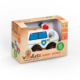 Woodlets - Vehicle - Police Vehicle - R Exclusive